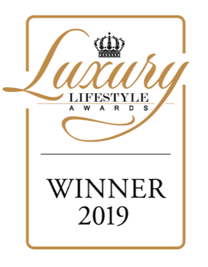 """WINNER"" of Luxury Lifestyle Awards 2019"